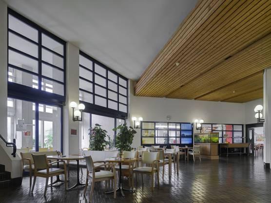 Alterszentrum Weihermatt, Speisesaal vor dem Umbau