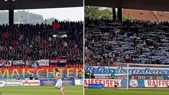 Es ist das letztes Mal, dass sich FCB- und GC- Fans gegenüberstehen, bevor das verschärfte Hooligan-Konkordat in Kraft tritt.