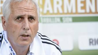 Bernard Challandes war während knapp einem Jahr Nationaltrainer von Armenien