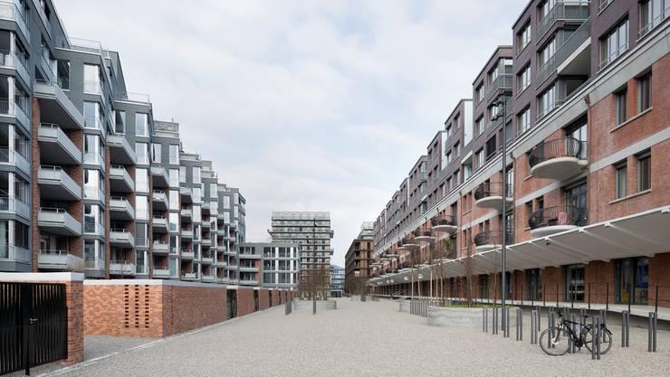 Konkurrenz für Aargauer Vermieter? Neue Mietwohnungen in Zürich Albisrieden.