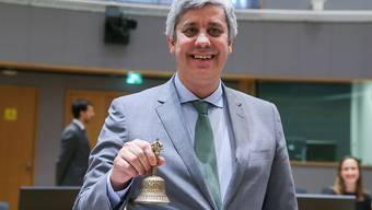Der neue Eurogruppen-Chef Mario Centeno und die EU-Finanzminister geben grünes Licht für weitere Hilfe für Griechenland.