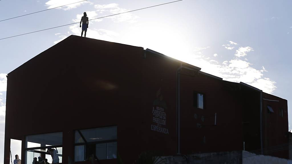Insassen hatten während der Meuterei Teile des Gefängnisses unter ihre Kontrolle gebracht. Foto: Jorge Saenz/AP/dpa