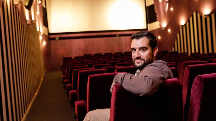 Die Kinosäle kann er mit der neuen Regel nur noch zu 12 Prozent auslasten: Kinobetreiber Mark von Gunten aus Solothurn.