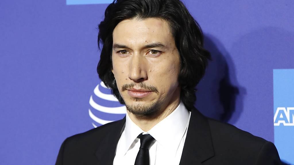 Der amerikanische Schauspieler Adam Driver kehrt zum Genre des Science Fiction zurück. (Archivbild)
