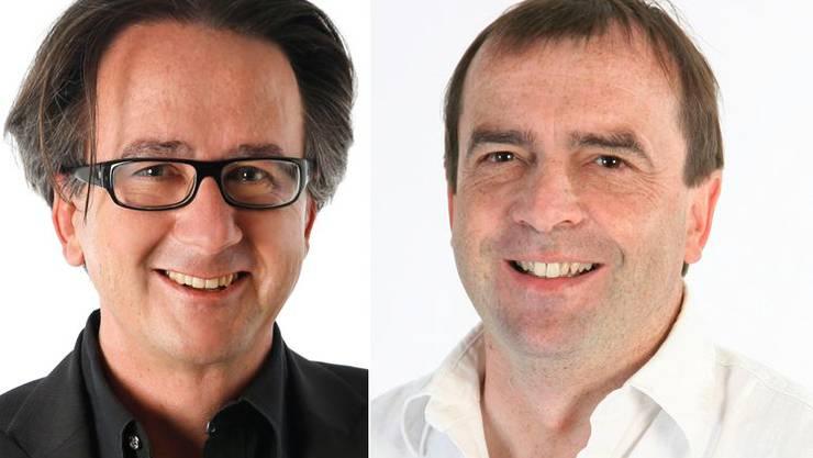 Erich Obrist und Jürg Caflisch.