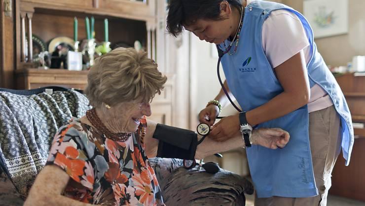 Spitexorganisationen und auch Pflegeheime bleiben auf Materialkosten sitzen.