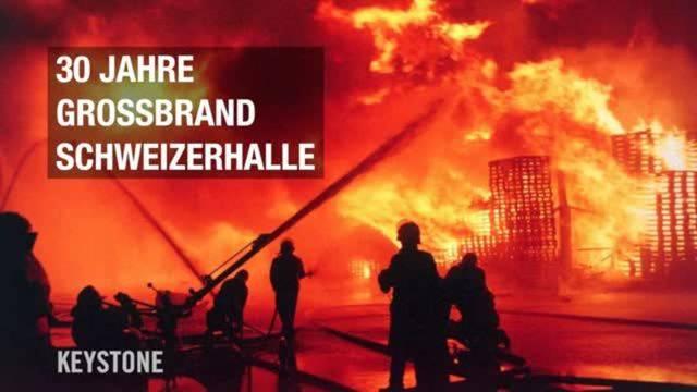 Vor 30 Jahren: Grossbrand in Schweizerhalle