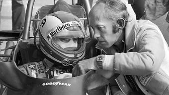 Mo Nunn mit dem ehemaligen Schweizer Formel-1-Star Clay Regazzoni