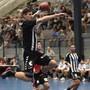 Station Siggenthal, 14.09.2019. Sport, Handball NLA, Saison 2019 / 2020. TV Endingen - RTV Basel. Luca Engler (RTV Basel). Copyright by: Alexander Wagner Station Siggenthal, 14. September 2019. Handball, NLA: TV Endingen - RTV Basel in der Go Easy Arena in Station Siggenthal