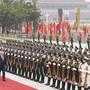 Ueli Maurer neben Chinas Präsident Xi Jinping Der Bundespräsident bekam beim Seidenstrassen-Gipfel im April in Peking einen sehenswerten Empfang.
