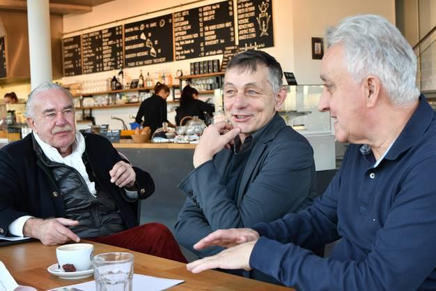 Nachdem der der FDP-Gemeinderat das Interview in dieser Zeitung mit den zwei Architekten Massimo Hauswirth und Klaus Schmuziger sowie Städteplaner Philippe Cabane (im Bild) Ende Dezember 2016 gelesen hat, sei ihm alles von damals wieder hochgekommen, so Probst.