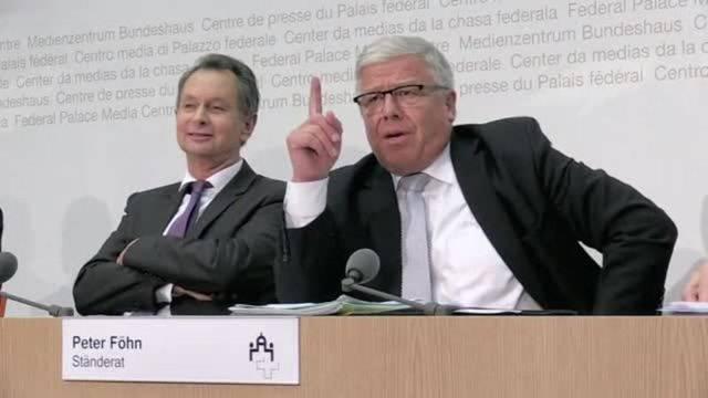 Kleiner Eklat während Medienkonferenz zur Umsetzung von MEI