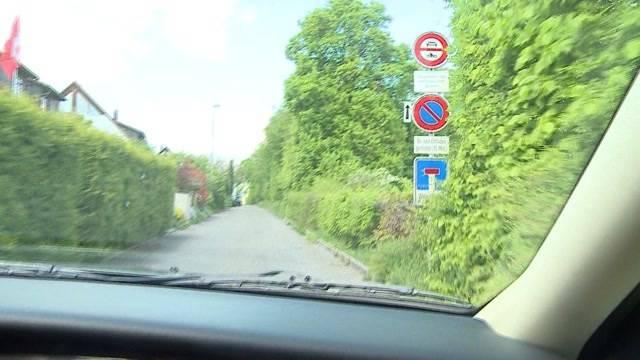 Ex-Polizist überfordert mit Verkehrsschildern