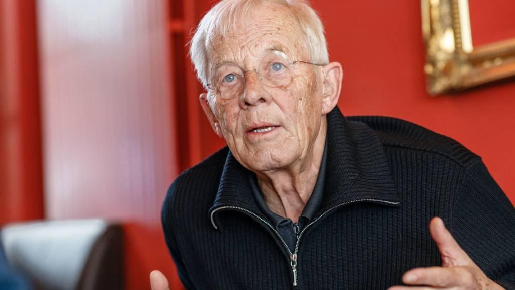 Hinter den Kulissen: Rolf Becker mit seinen Kindern Meret und Ben
