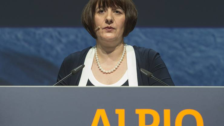 Bereits im Vorjahr musste Alpiq-Chefin Jasmin Staiblin rote Zahlen präsentieren. (Archiv)
