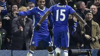 Chelsea egalisierte mit dem 13. Sieg in Folge den Premier-League-Rekord von Arsenal