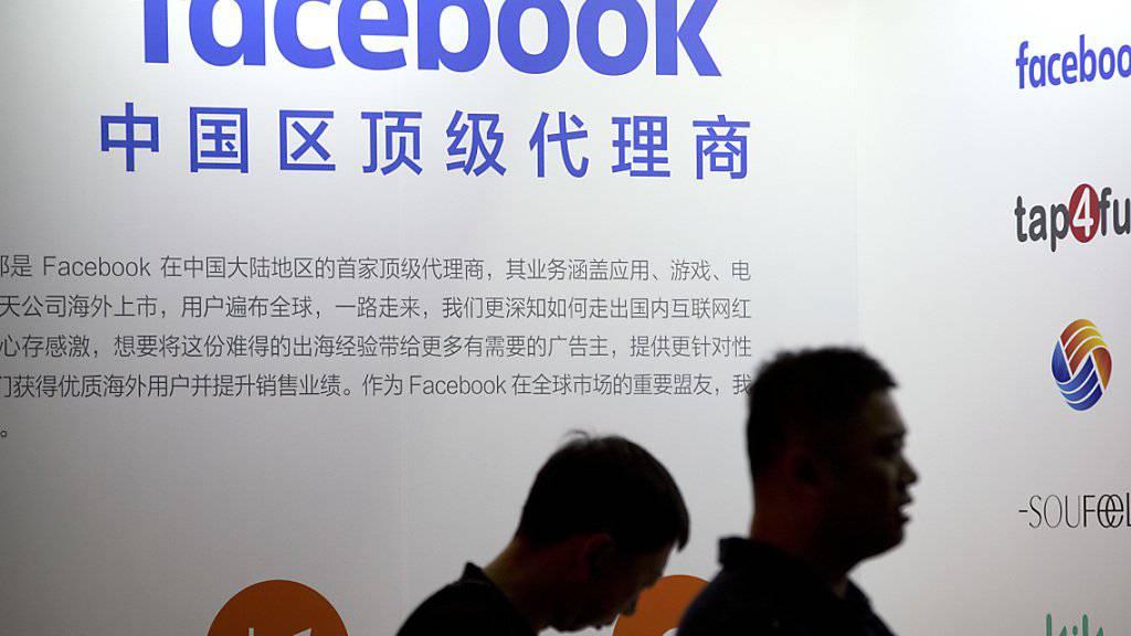 Facebook gewährte weltweit rund 60 Firmen Zugang zu Nutzerdaten, darunter den chinesischen Handyherstellern Huawai, OPPO und TCL sowie dem Computer-Hersteller Lenovo. (Symbolbild)