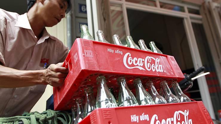 Der US-Getränkeriese hat zwar das Geschäftsjahr 2018 gut abgeschlossen, enttäuscht die Anleger aber mit dem Ausblick auf das neu angelaufene Geschäftsjahr.(Symbolbild)