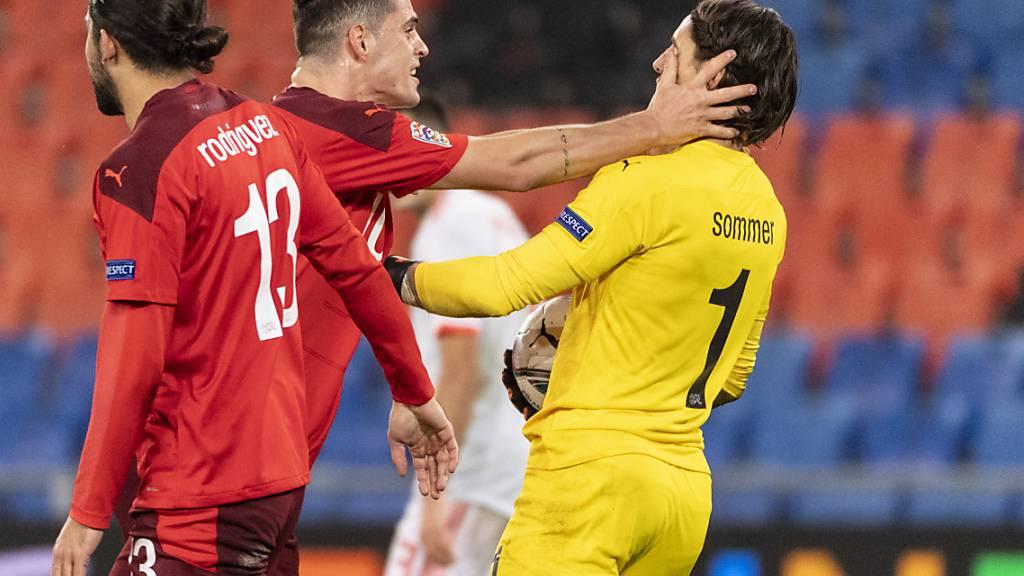 Yann Sommer hatte bei den Penaltys von Ramos eine Ahnung