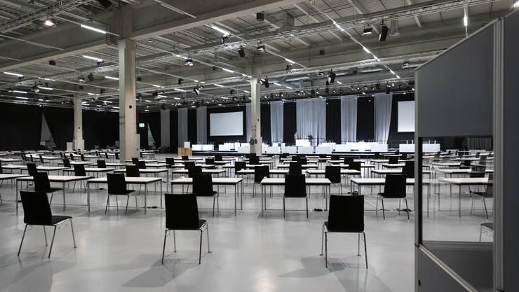 Nachdem die Infrastruktur bereits in der Bernexpo getestet wurde, will die Verwaltungsdelegation die Sommersession nicht nach Luzern verlegen.