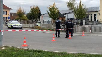 Polizeieinsatz in Boswil (24. Oktober 2018)