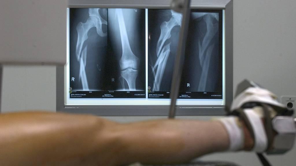 Knochenbrüche & Co.: Wintersportler bescheren Spital viel Arbeit