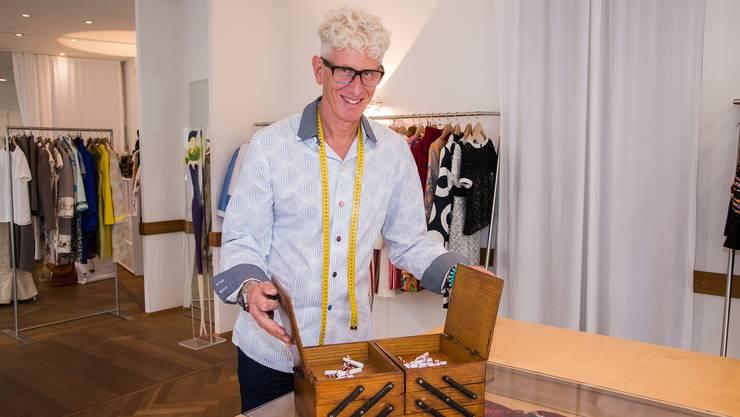 Im Nähkästchen der Schweiz am Wochenende verstecken sich verschiedene Begriffe. Das Thema für Raphael Blechschmidt: «Liebesbriefe».