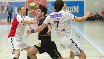 Für die NLA-Handballer aus Basel gab es gegen den Tabellenführer kein Durchkommen.