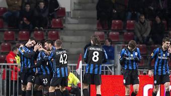 Die Spieler von Tschernomoretz Odessa eliminierten Eindhoven