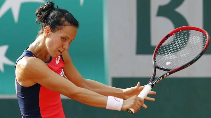 Viktorija Golubic ist erneut früh ausgeschieden.