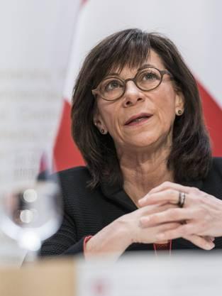 Heidi Hanselmann, Präsidentin der Konferenz der kantonalen Gesundheitsdirektoren.