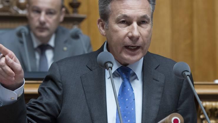 Die SVP nominiert ihren Bunderatskandidaten am 20. November: Das kündigt SVP-Fraktionschef Adrian Amstutz an.