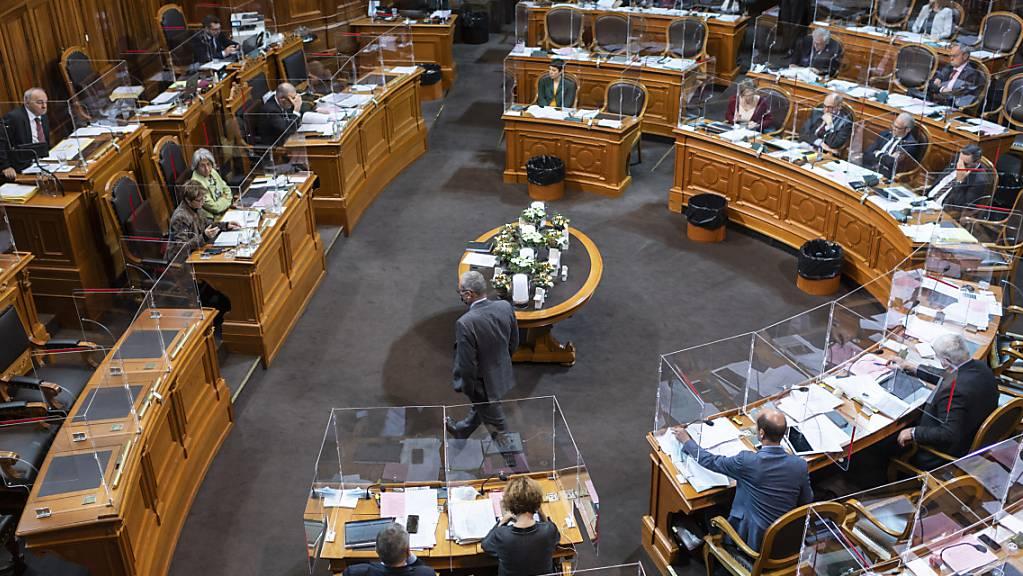 Der Ständerat will heute an der Budgetdebatte weitgehend beim Vorschlag des Bundesrats bleiben. (Symbolbild)