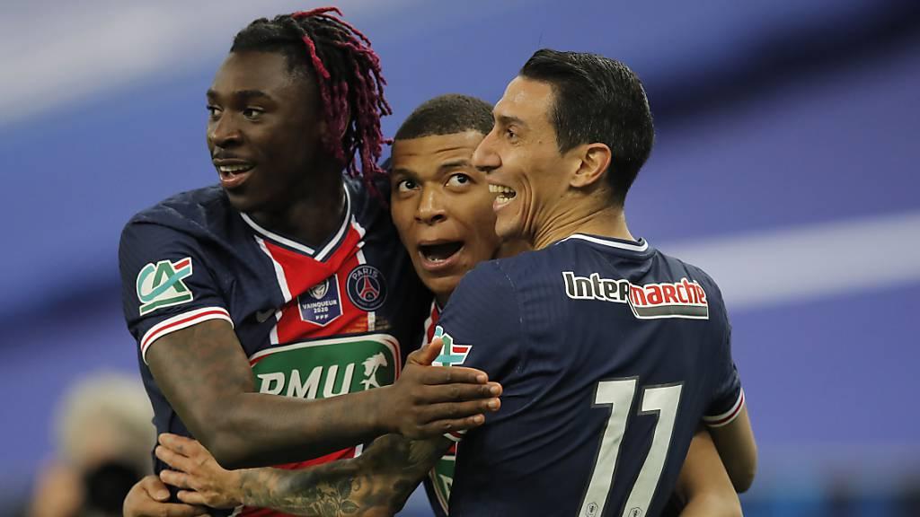 Paris Saint-Germain mit souveränem Cupsieg