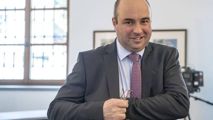 CVP-Landrat Daniel Furrer zieht neu in die Urner Regierung ein.