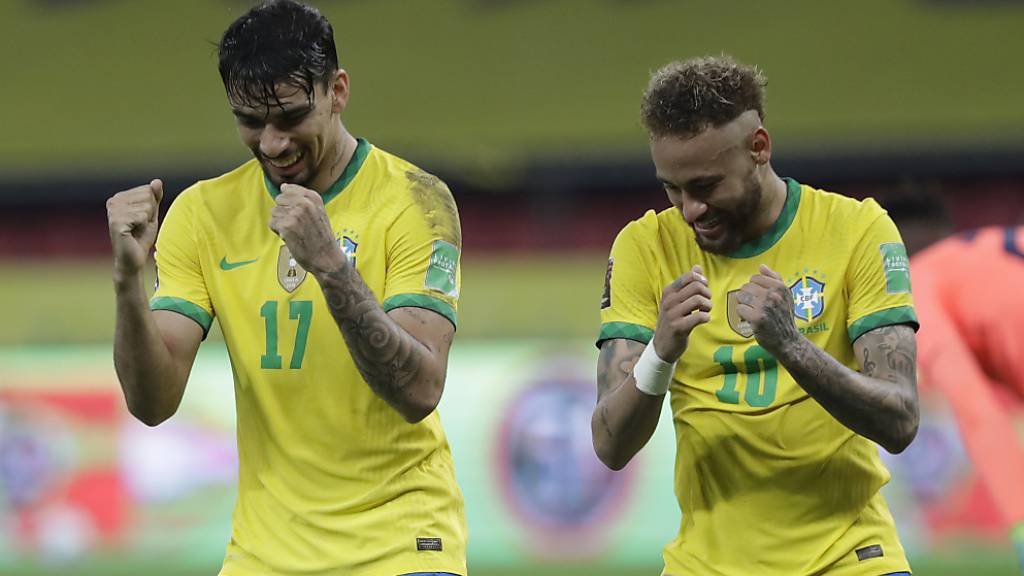 Brasilien mit fünftem Sieg im fünften Spiel