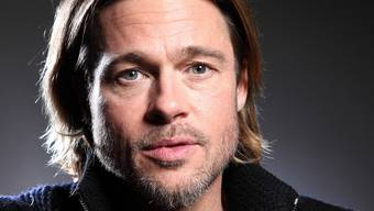 Ist laut eigener Aussage mit Angelina Jolie viel glücklicher als damals mit Jennifer Aniston: Brad Pitt (Archiv)