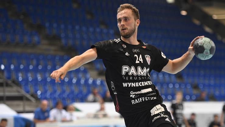 Der rechte Flügel David Poloz hat seit seinem Wechsel zum HSC Suhr Aarau im Sommer 2018 noch kein einziges Pflichtspiel seines Klubs verpasst.