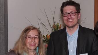 Eva Koltai übergibt nach 19 Jahren die Leitung der Pneumologie im Spital Laufenburg an Patrick Fachinger.