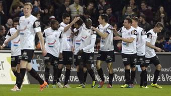 Der FC Aarau gewinnt gegen YB mit 2:1
