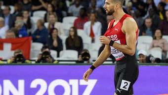Für Kariem Hussein endete die WM im Final über 400 m Hürden mit einer Enttäuschung