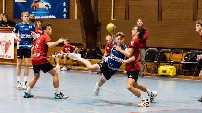 Handball: Junioren U17 Inter,  HSG Aargau Ost - HSC Suhr Aarau (17.November.19)