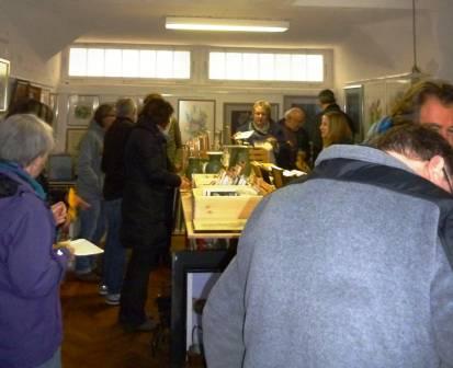 Zur Eröffnung kamen die Besucher in Scharen.