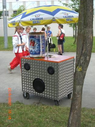 Musigwägeli 2007: 1. Version Musigwägeli STV Erlinsbach AG zum 1. Mal dabei am ETF Frauenfeld 2007.