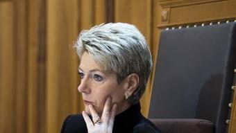 Auch als Ständeratspräsidentin gefragt: Karin Keller-Sutter.