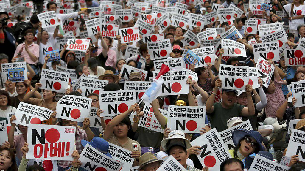 Südkoreaner boykottieren japanische Produkte