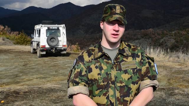 Thomas Zahn, Swisscoy Soldat in Zubin Potok, über seinen Auftrag im Kosovo.