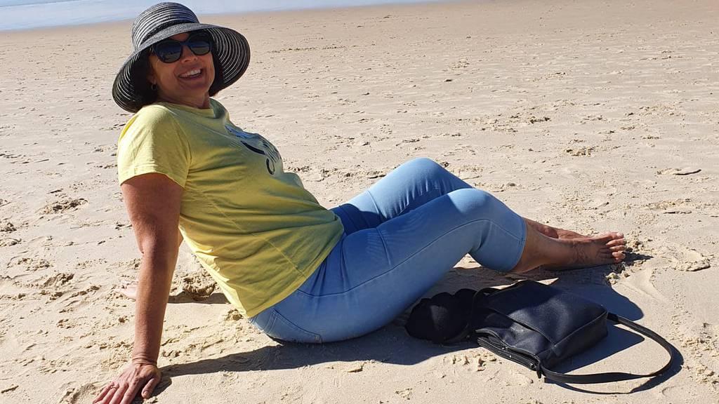 Toni am Strand.