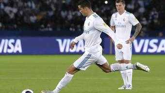 Cristiano Ronaldo gelingt im Final der Klub-WM das einzige Tor