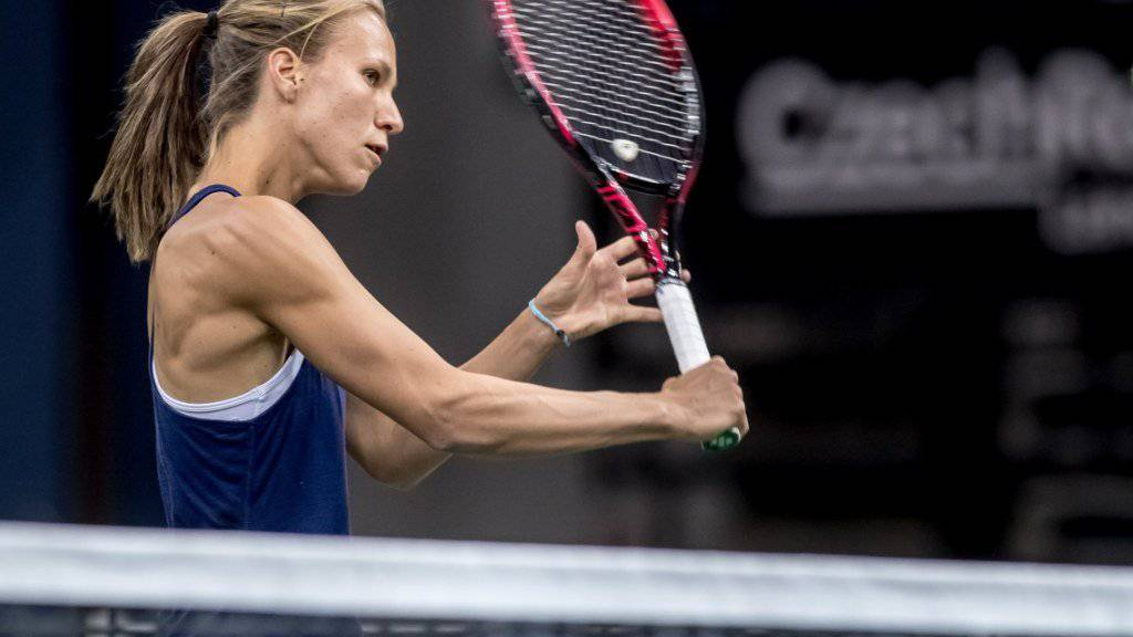 Viktorija Golubic eröffnet den Viertelfinal gegen Petra Kvitova